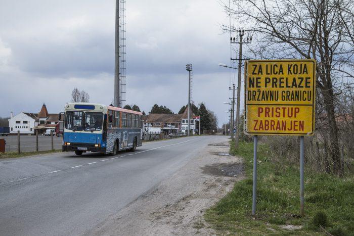 Kelebija, dernier arrêt avant la frontière Serbo-Hongroise