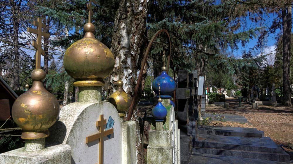 Sainte-Geneviève des Bois, la petite Russie française