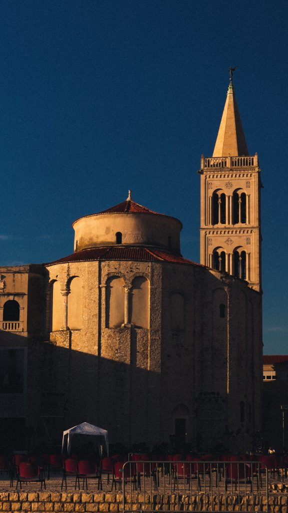 Église Saint-Donat, Zadar, Croatie