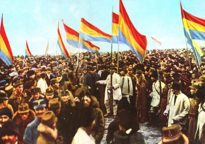 La grande fête de l'Union – 1er décembre 1918, naissance de l'éphémère Grande Roumanie