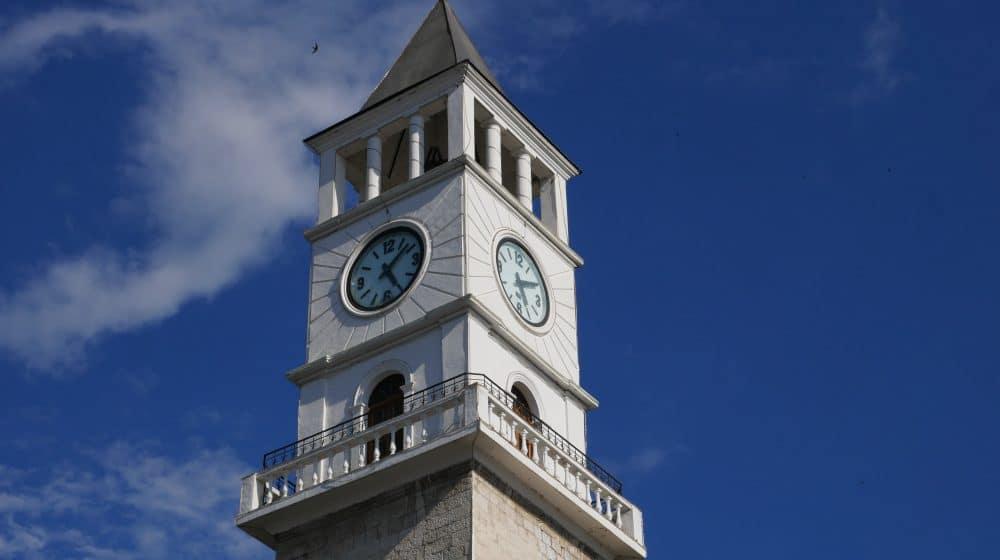 La Tour de l'Horloge de Tirana