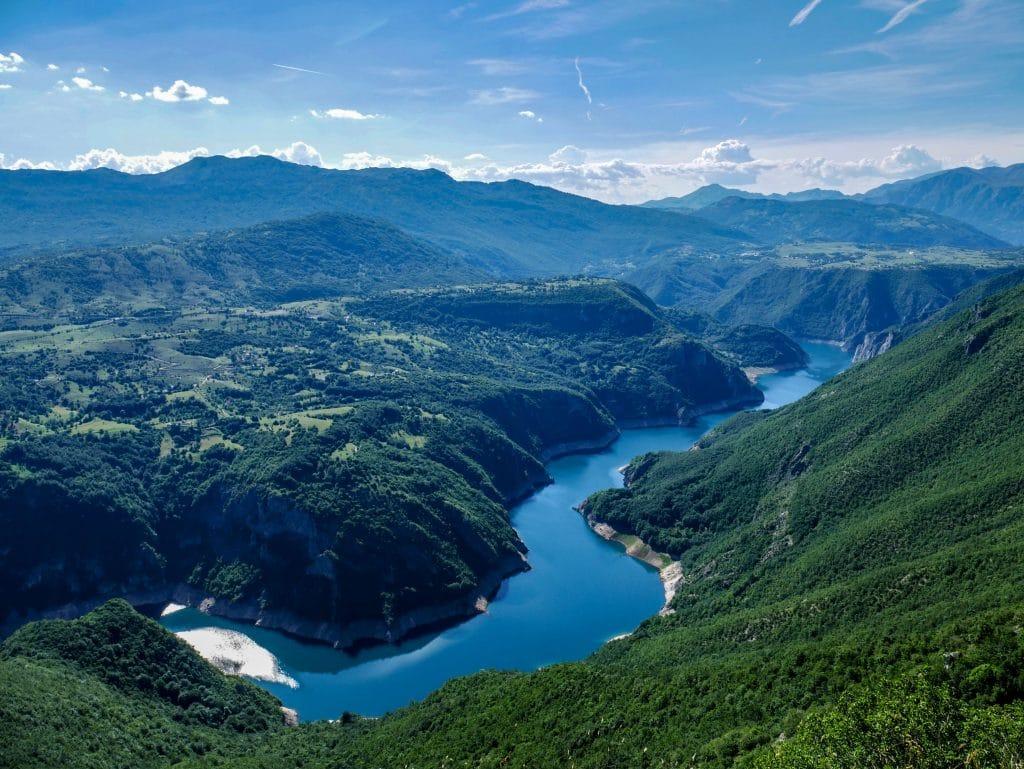 Lac Piva, Monténégro
