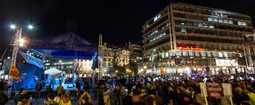 """L'image de la semaine: Concert contre le projet """"Beograd na Vodi"""""""