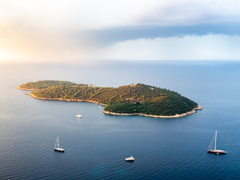 Île de Lokrum, Dubrovnik, voyage et covid